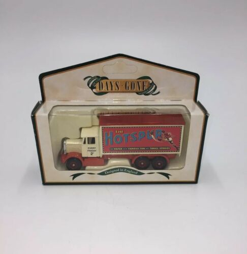 Lledo Die Cast Scammell 6 Wheeler Truck - Hotspur Comic - Days Gone. | Image 1