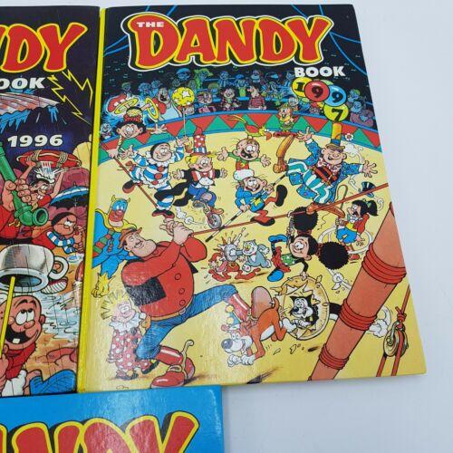 3x THE DANDY BOOK Children's Annual 1996, 1997 & 1998 Desperate Dan   Image 3