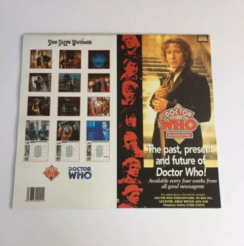 Vintage BBC Doctor Who The Official 1997 Calendar - Heroes & Villains | Image 2