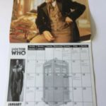 Vintage BBC Doctor Who The Official 1997 Calendar - Heroes & Villains | Image 3