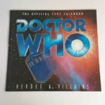 Vintage BBC Doctor Who The Official 1997 Calendar - Heroes & Villains | Image 1