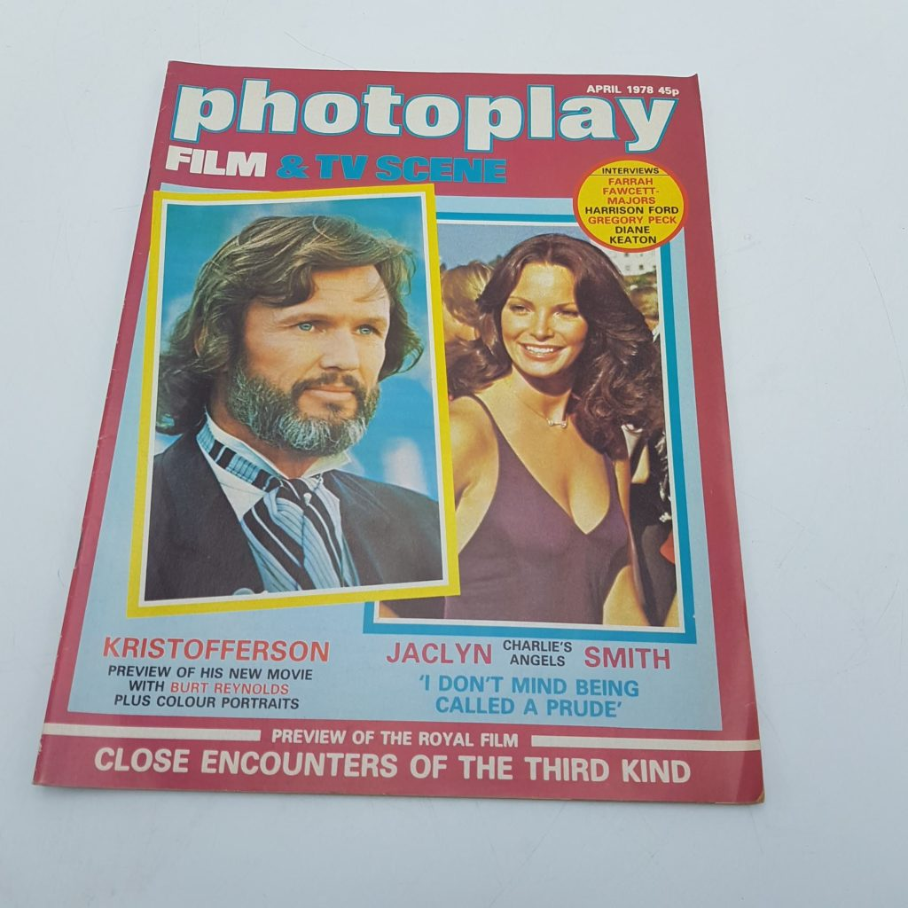 PHOTOPLAY Film & TV Scene Magazine APRIL1978 CLOSE ENCOUNTERS | Image 1