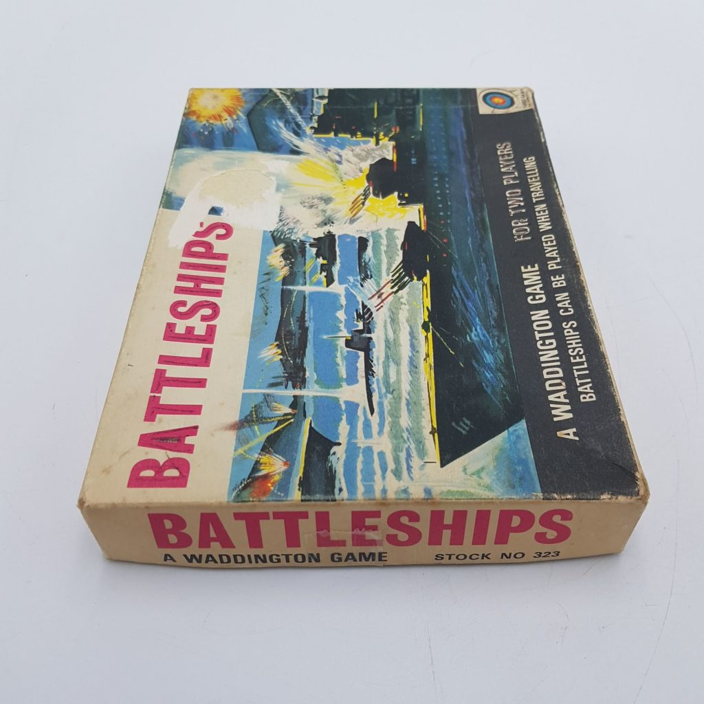 Vintage 1967 Battleships by Waddington's - Used in Poor Condition   Image 8