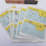 Vintage 1967 Battleships by Waddington's - Used in Poor Condition   Image 3