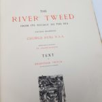 The River Tweed by George Reid RSA 1884 Amand-Durand Large Illustrated Book | Image 1
