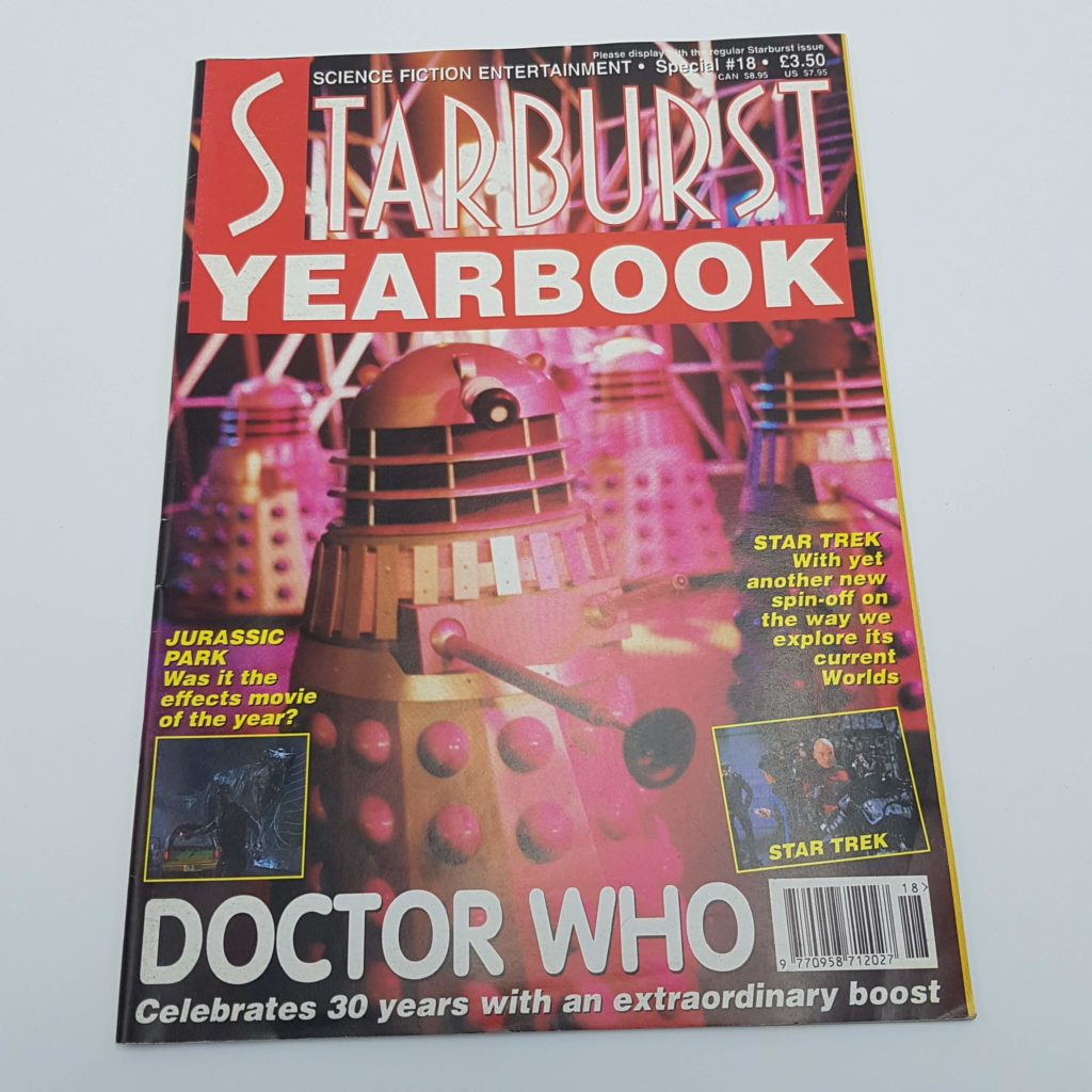 STARBURST Magazine Special #18 December 1993 with DOCTOR WHO | Image 1