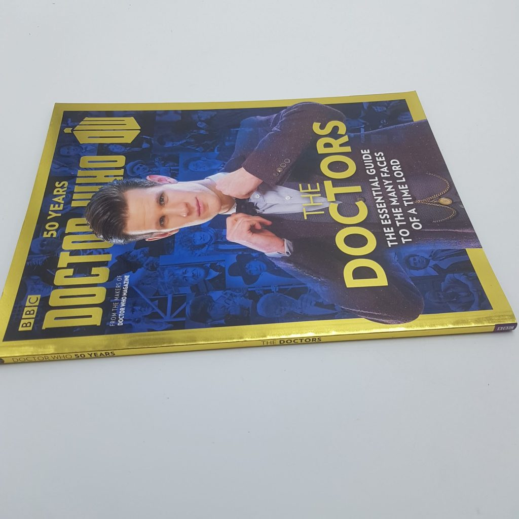 UK Doctor Who 50 Years THE DOCTORS Magazine (2013) NM Essential Guide | Image 3