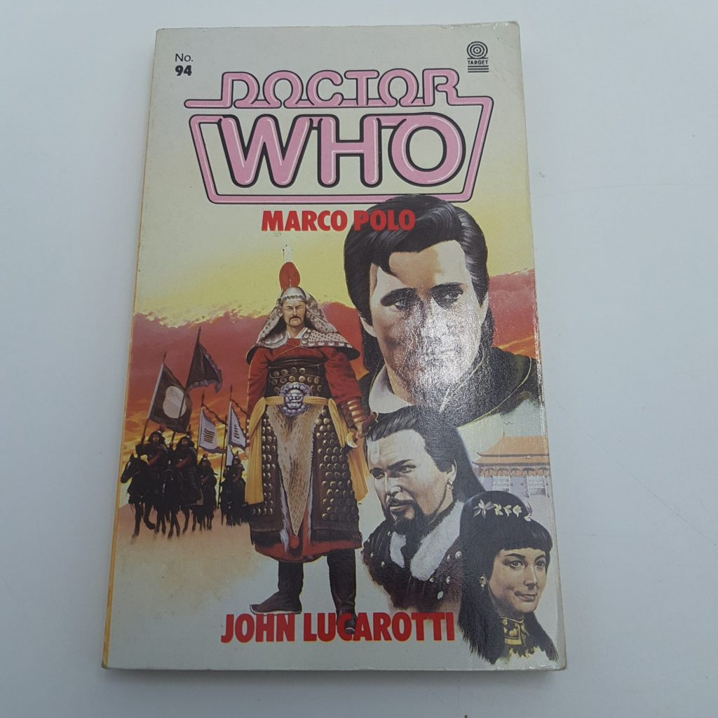 Doctor Who MARCO POLO by John Lucarotti  1985 1st Ed. TARGET Book GC   Image 1
