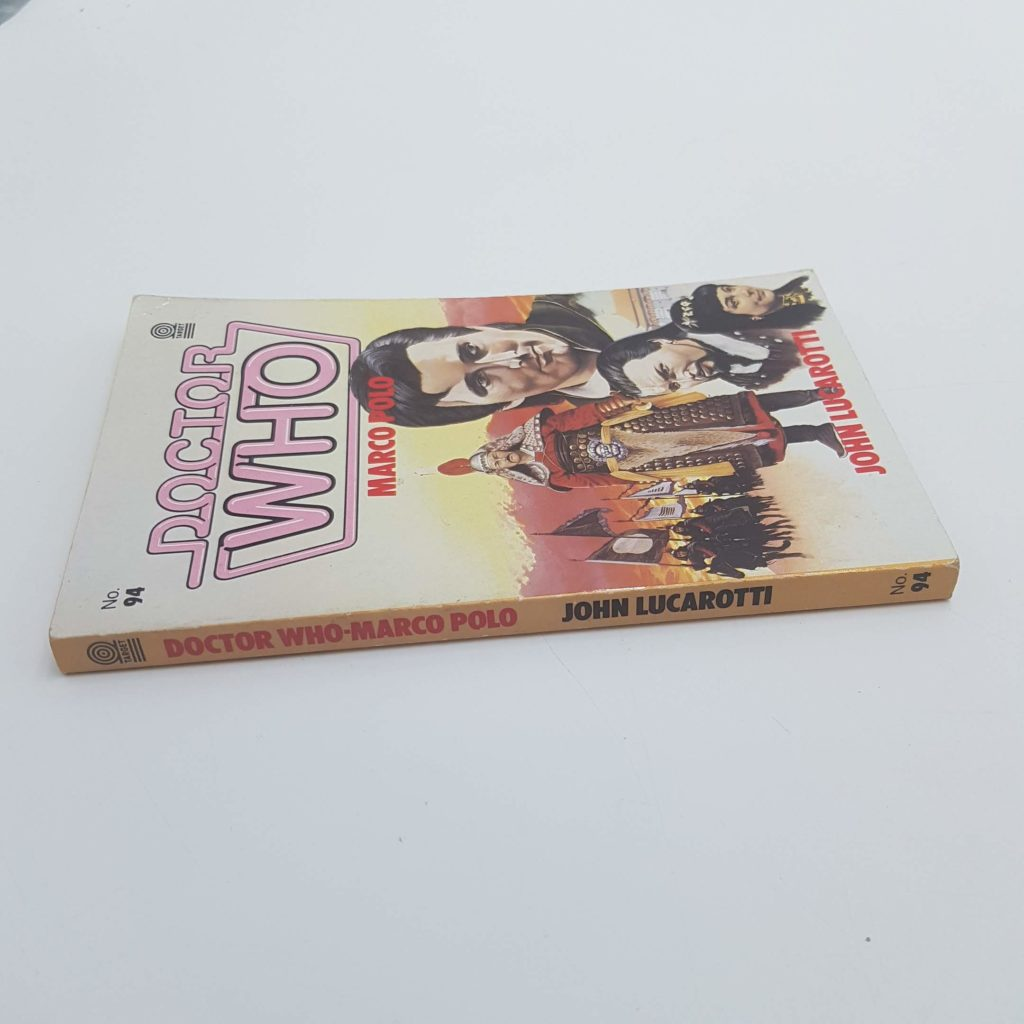 Doctor Who MARCO POLO by John Lucarotti  1985 1st Ed. TARGET Book GC   Image 2