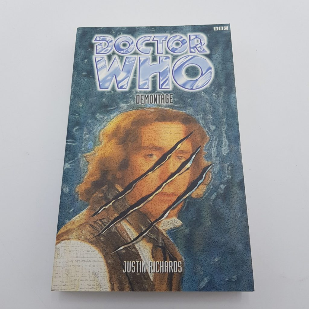 Doctor Who DEMONTAGE by Justin Richards (1999) BBC Books EDA VGC-NM | Image 1