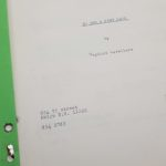 TO SEE A FINE LADY Gaylord Cavallaro 1960's Original Script Screenplay | Image 3