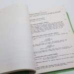TO SEE A FINE LADY Gaylord Cavallaro 1960's Original Script Screenplay | Image 5