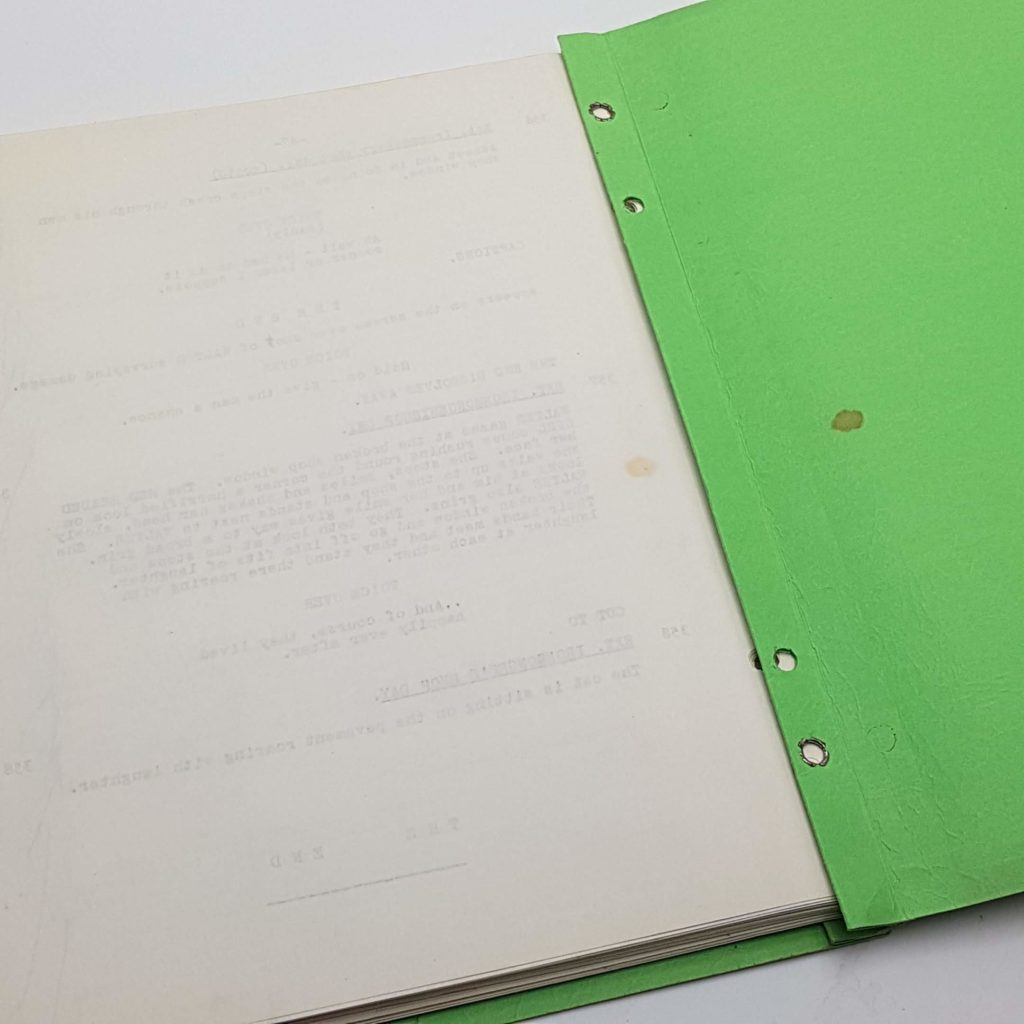TO SEE A FINE LADY Gaylord Cavallaro 1960's Original Script Screenplay | Image 8