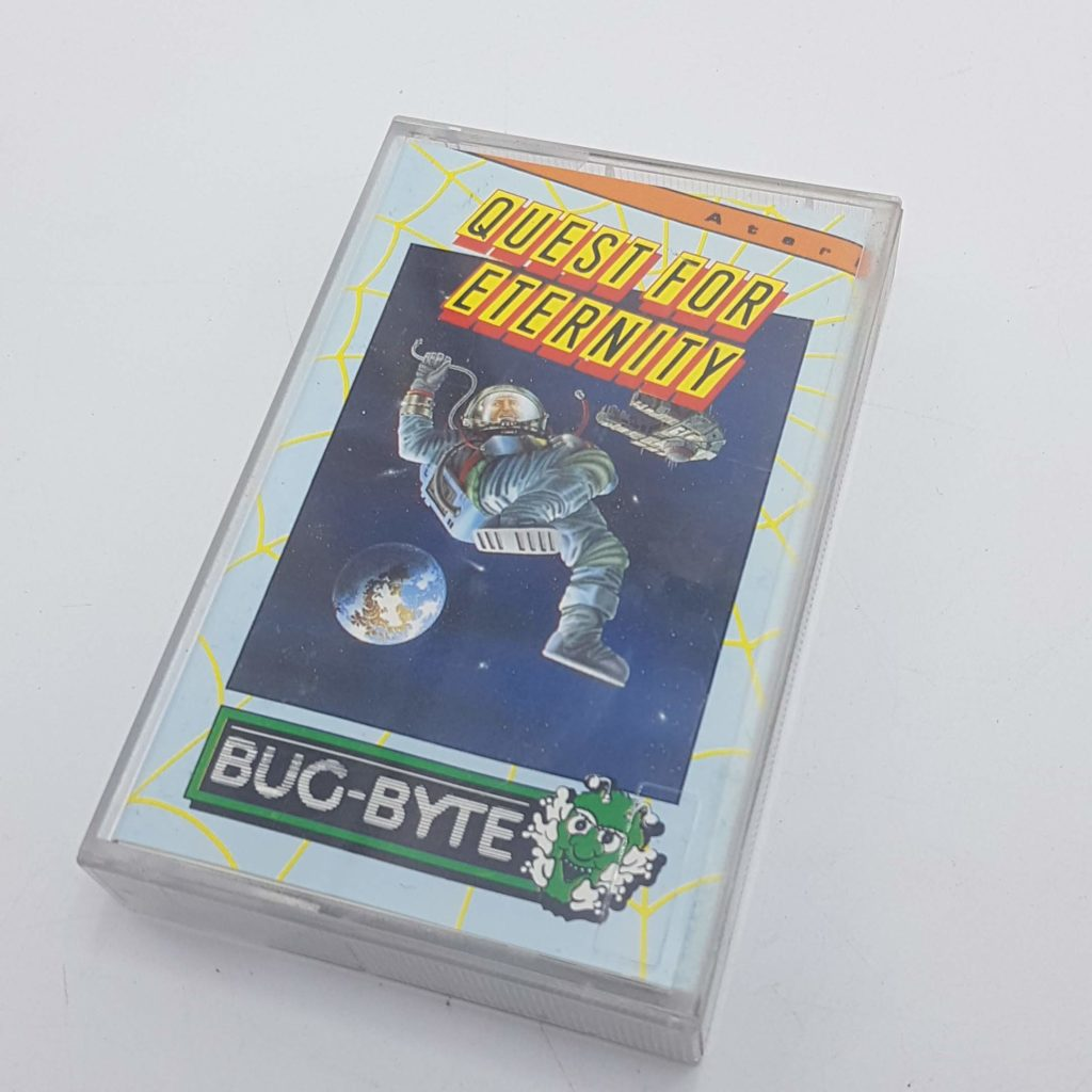 QUEST FOR ETERNITY (1985) Bug-Byte Software ATARI Cassette Game VGC | Image 1