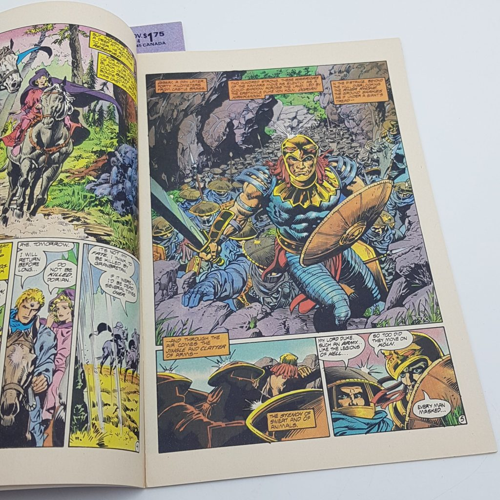 Hawkmoon Jewel In The Skull Issues 3 & 4 (1986) US First Comics VG-NM | Image 5