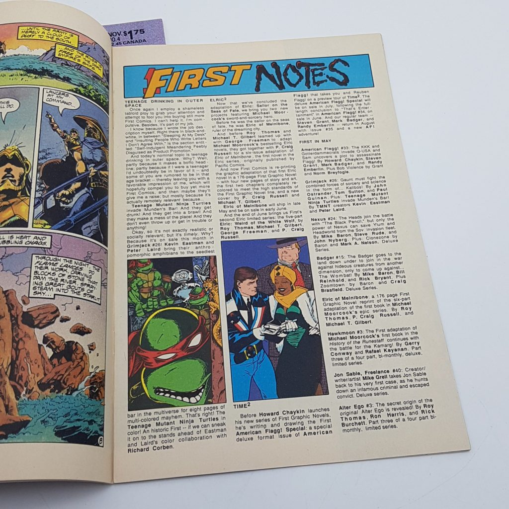 Hawkmoon Jewel In The Skull Issues 3 & 4 (1986) US First Comics VG-NM | Image 4