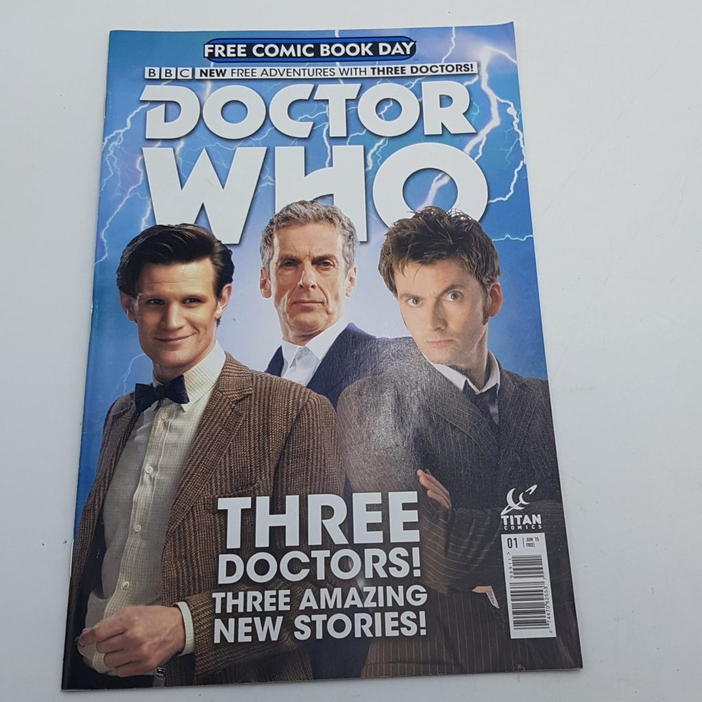 DOCTOR WHO Free Comic Day Issue 1 June 2015 UK TITAN Comics VG-NM | Image 1