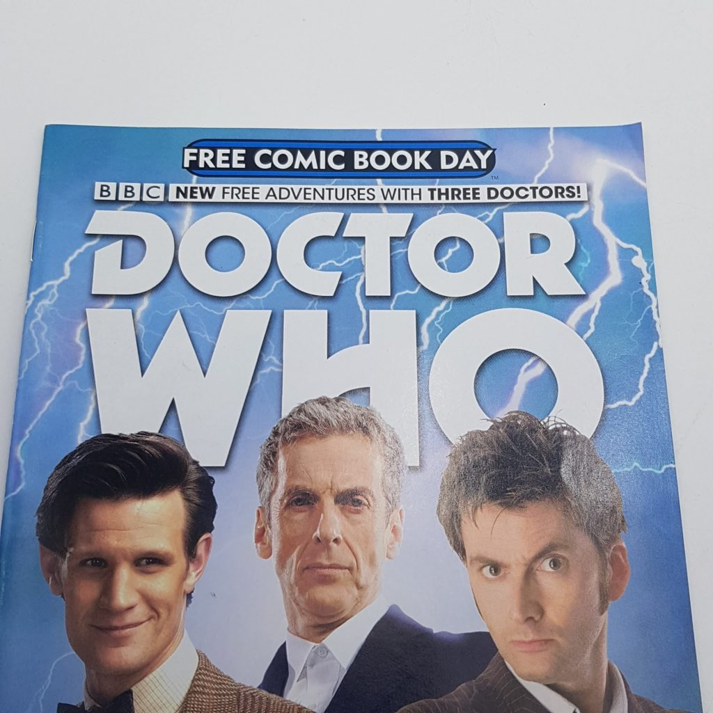 DOCTOR WHO Free Comic Day Issue 1 June 2015 UK TITAN Comics VG-NM | Image 9