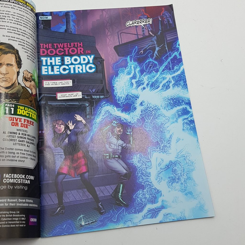 DOCTOR WHO Free Comic Day Issue 1 June 2015 UK TITAN Comics VG-NM | Image 6