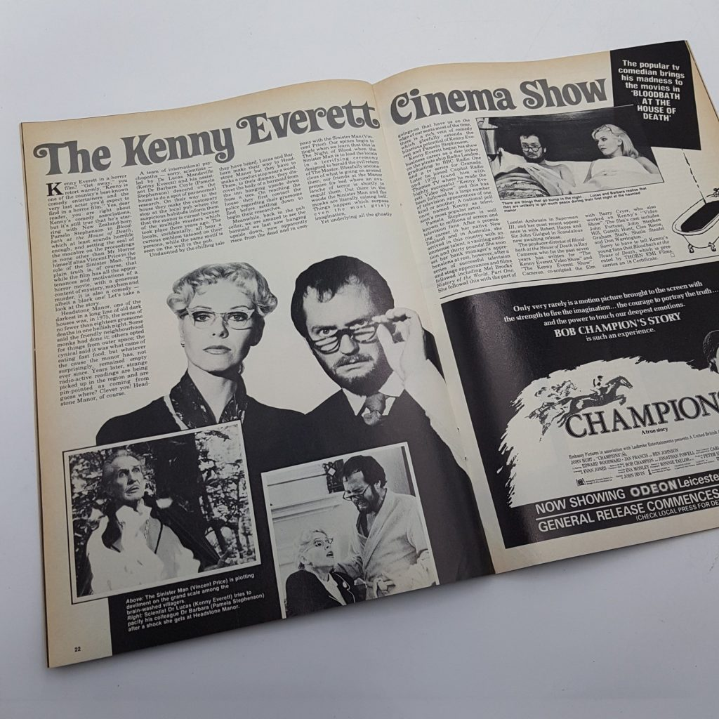FILM REVIEW UK Movie Magazine April 1984 TERMS OF ENDEARMENT (VG-NM) | Image 3