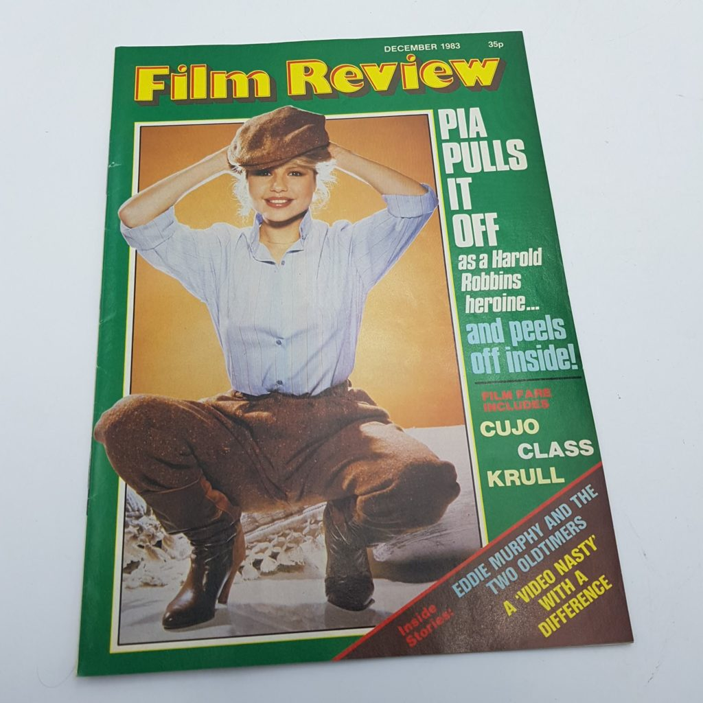 FILM REVIEW UK Movie Magazine Dec. 1983 The Lonely Lady & Krull [VG+] | Image 1