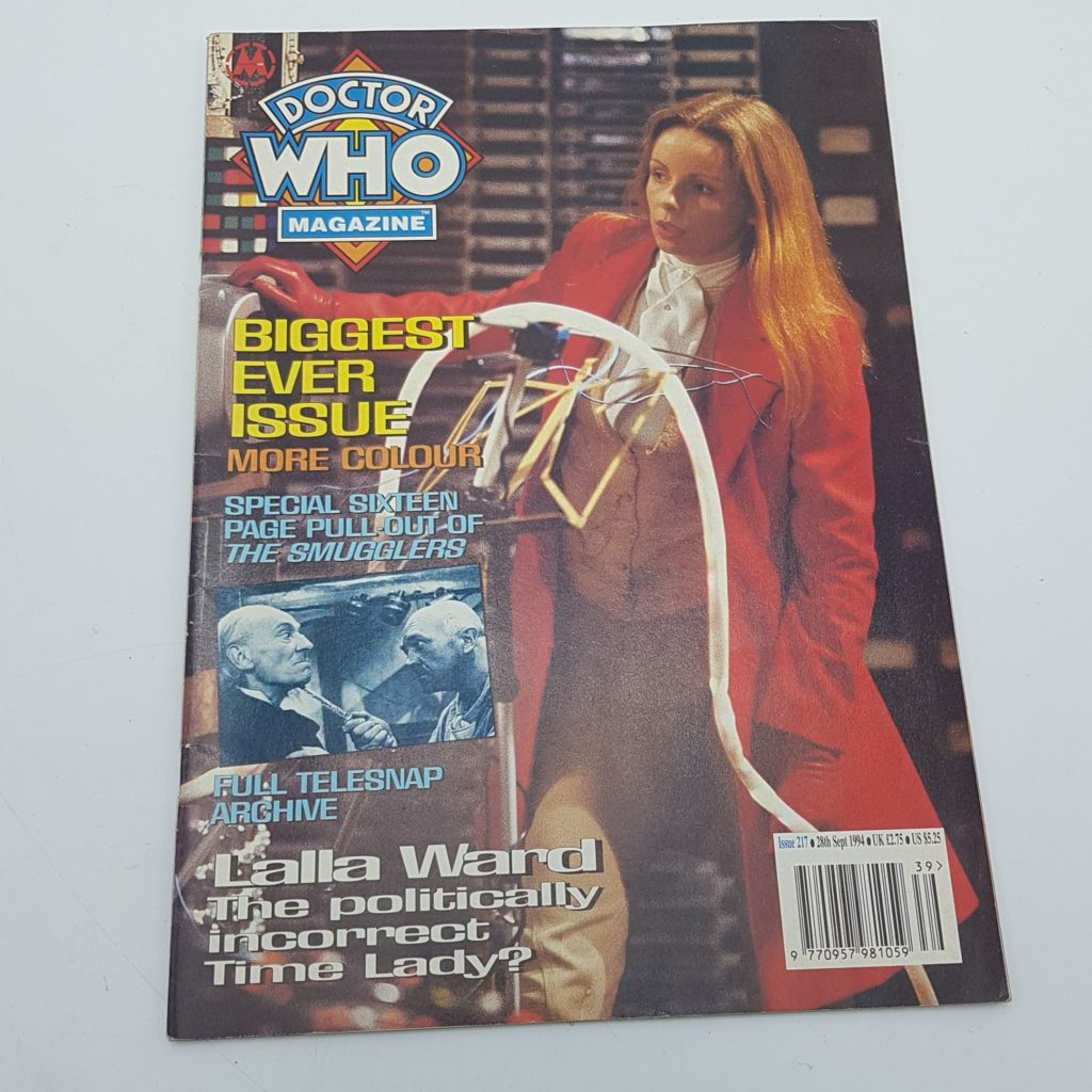 Doctor Who Magazine Issue 217 Sept 1994 The Smugglers Telesnap Archive VG-NM | Image 1