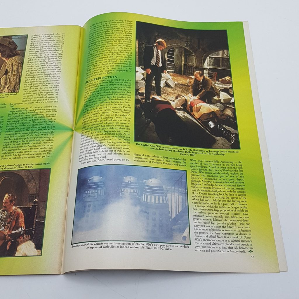 Doctor Who Magazine Issue 217 Sept 1994 The Smugglers Telesnap Archive VG-NM | Image 3