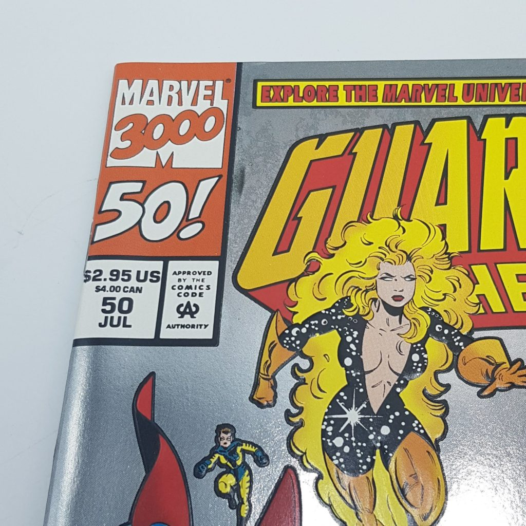 GUARDIANS OF THE GALAXY Comic Issue 50 July 1994 Foil Cover NEAR MINT | Image 2