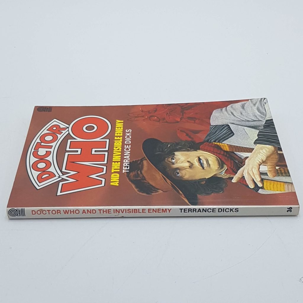 Doctor Who and the Invisible Enemy Target Book 4th Ed. 1984 UK RRP £1.95 | Image 7