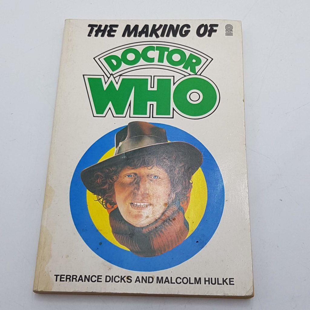 THE MAKING OF DOCTOR WHO Terrance Dicks Target Book 4th Ed. 1986 UK   Image 1
