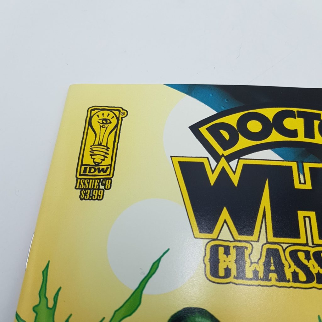 Doctor Who Classic IDW Issue #8 July 2008 1st Printing THE TIME WITCH (NM) | Image 2