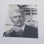 DOCTOR WHO AND THE DALEKS 10x8 B&W Glossy Photograph PETER CUSHING | Image 1
