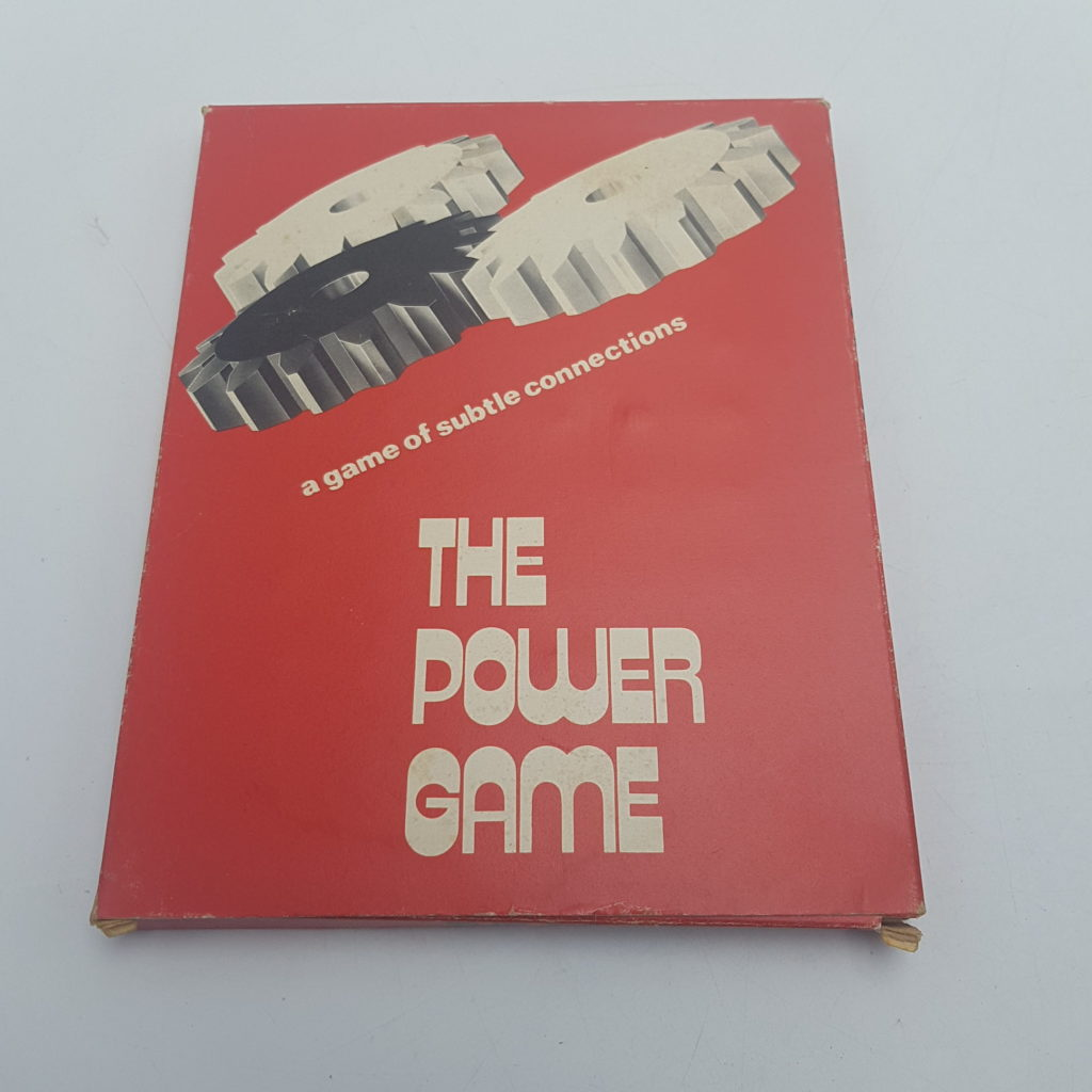 Vintage UK 1970's THE POWER GAME Logic Game (1975) Angel Toy Group | Image 1
