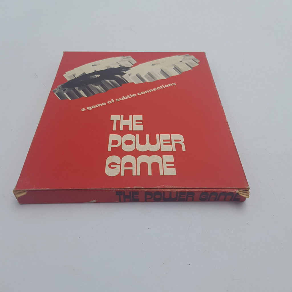 Vintage UK 1970's THE POWER GAME Logic Game (1975) Angel Toy Group | Image 2