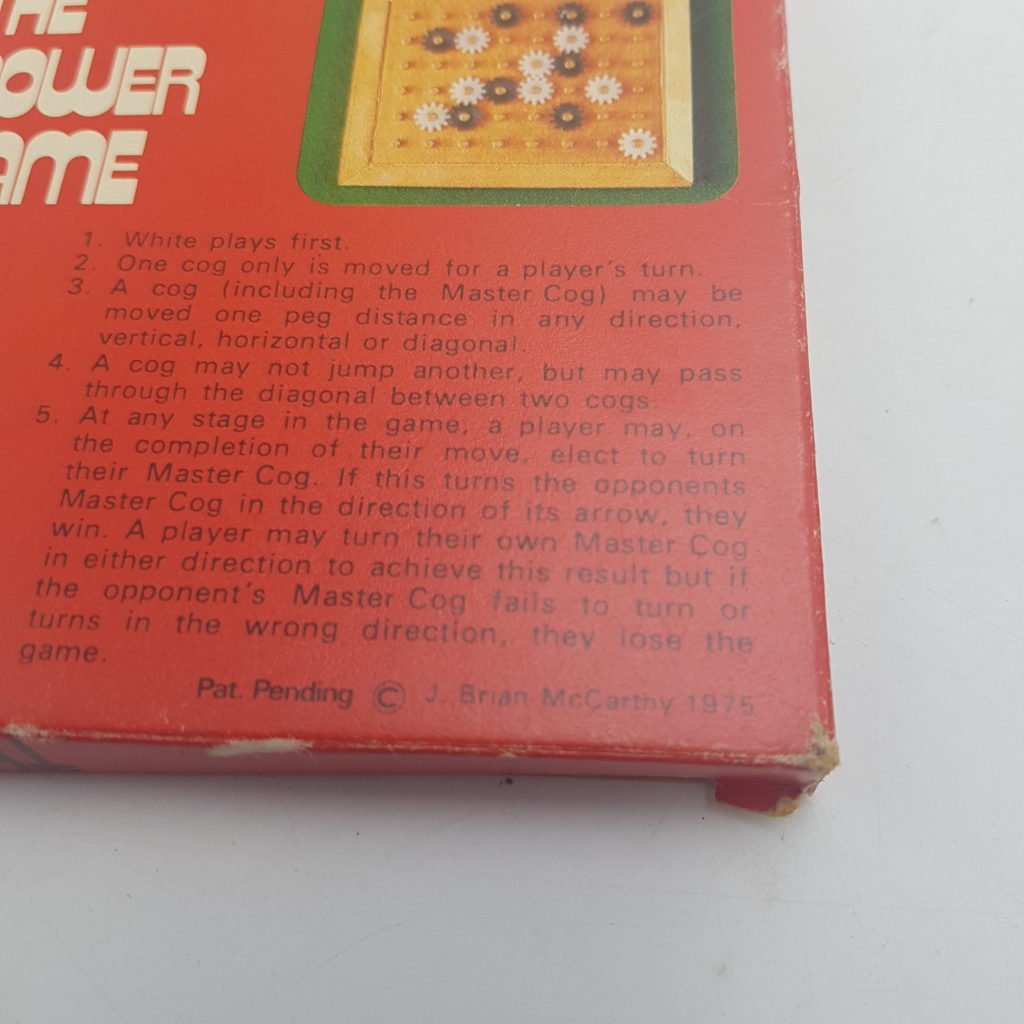 Vintage UK 1970's THE POWER GAME Logic Game (1975) Angel Toy Group | Image 7