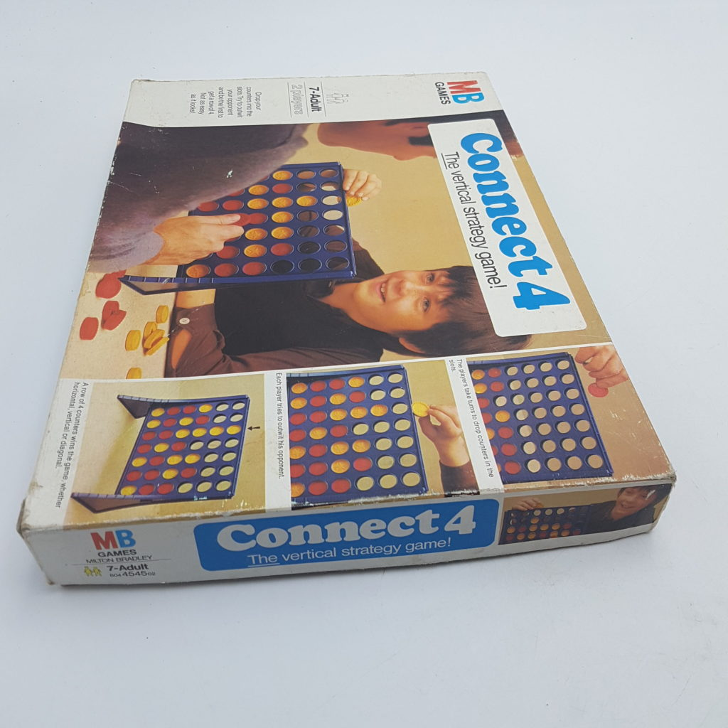 CONNECT FOUR (1977) MB Games Vintage 1970s Family Strategy Game | Image 2