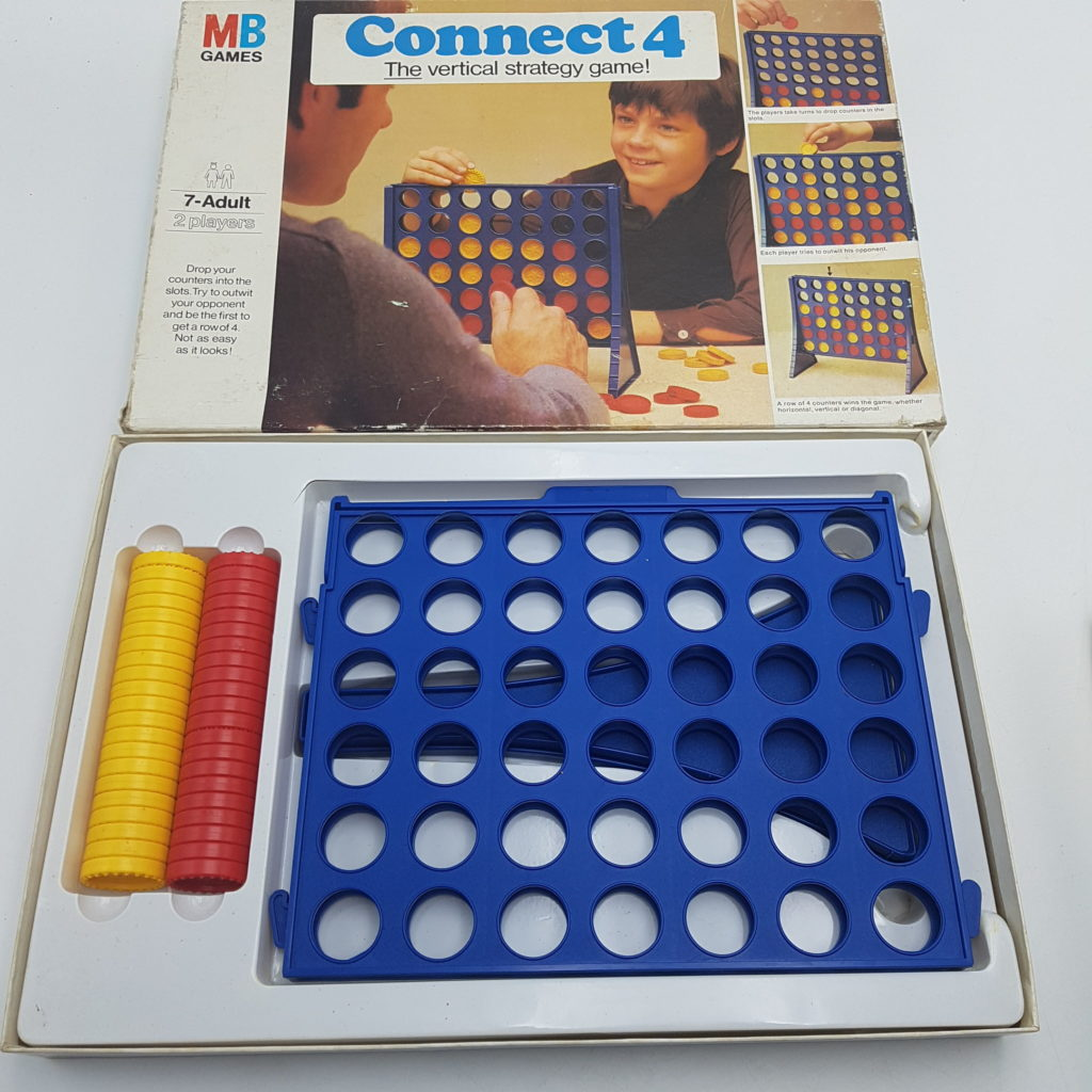 CONNECT FOUR (1977) MB Games Vintage 1970s Family Strategy Game | Image 5