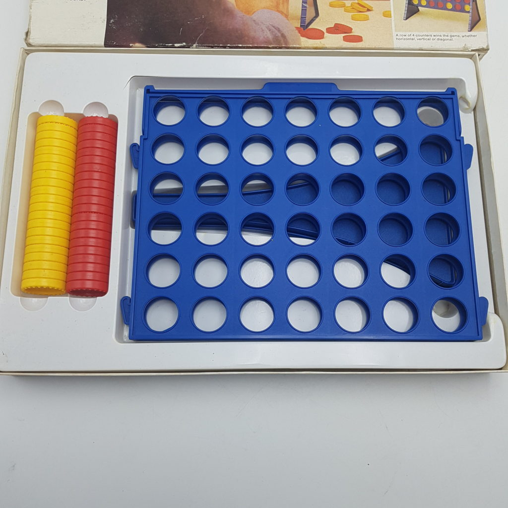 CONNECT FOUR (1977) MB Games Vintage 1970s Family Strategy Game | Image 10