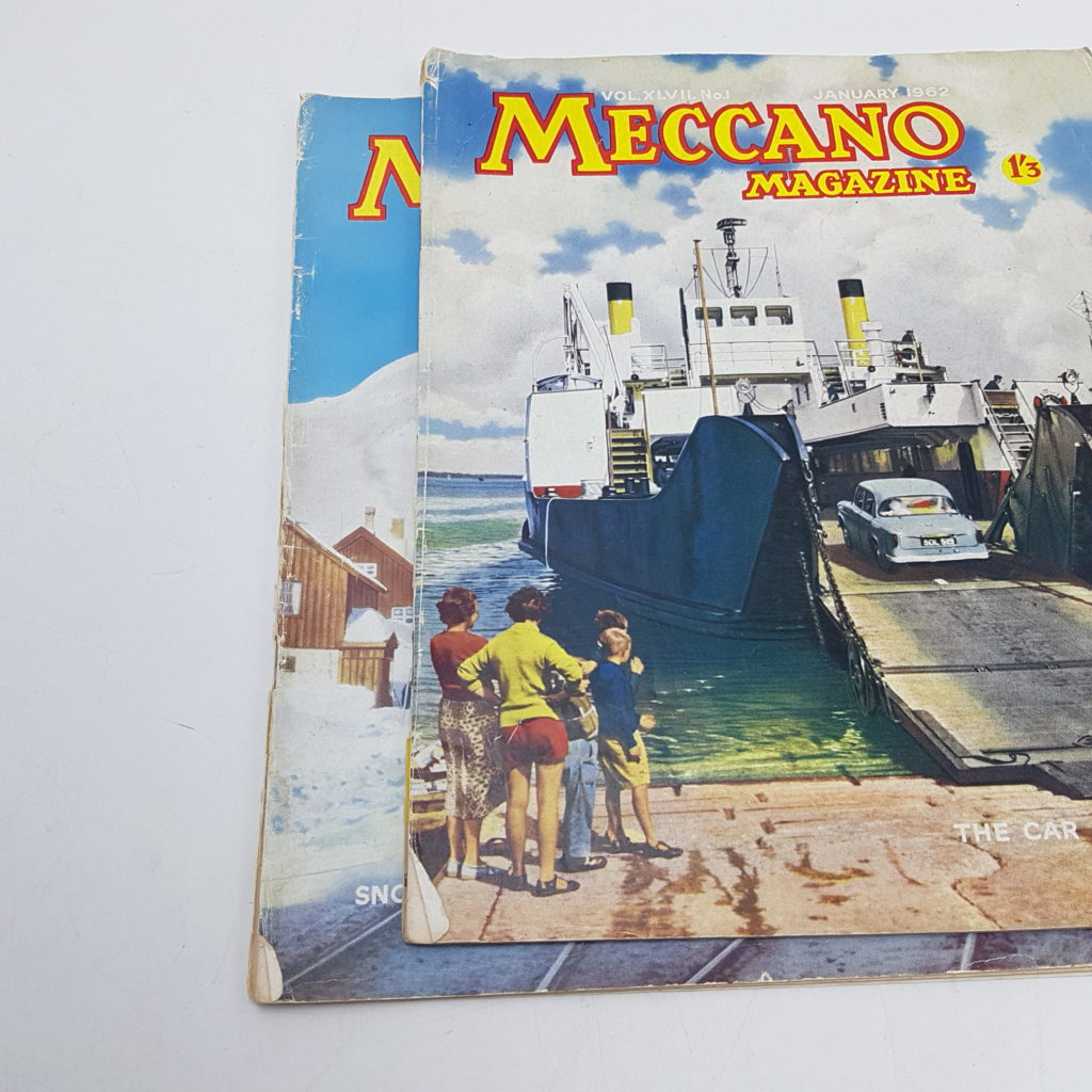2x MECCANO Magazines 1962 Vol. 47 Issues 1 & 12 - Model Making | Image 4