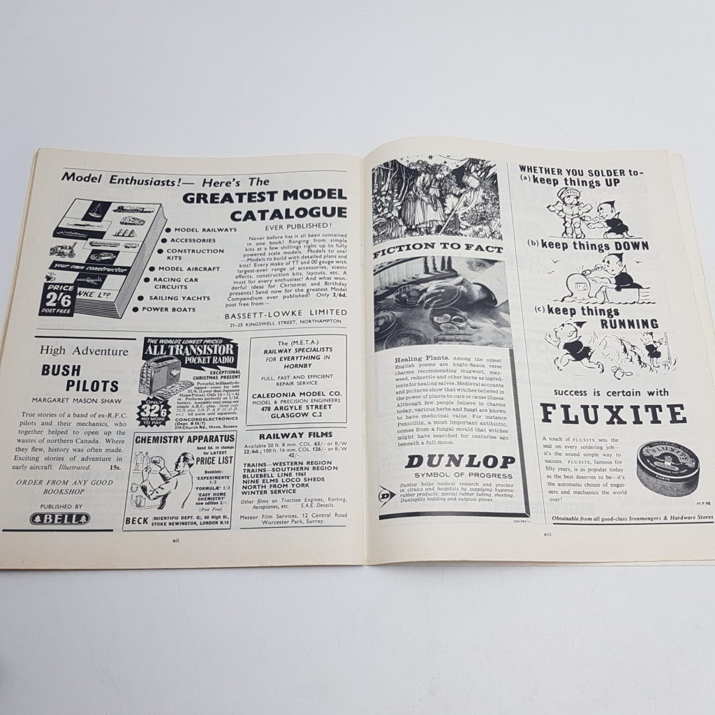 2x MECCANO Magazines 1962 Vol. 47 Issues 1 & 12 - Model Making | Image 9