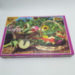 Falcon 1000 Piece Harmony Deluxe Jigsaw Puzzle SUMMER BASKETS (1997) | Image 1