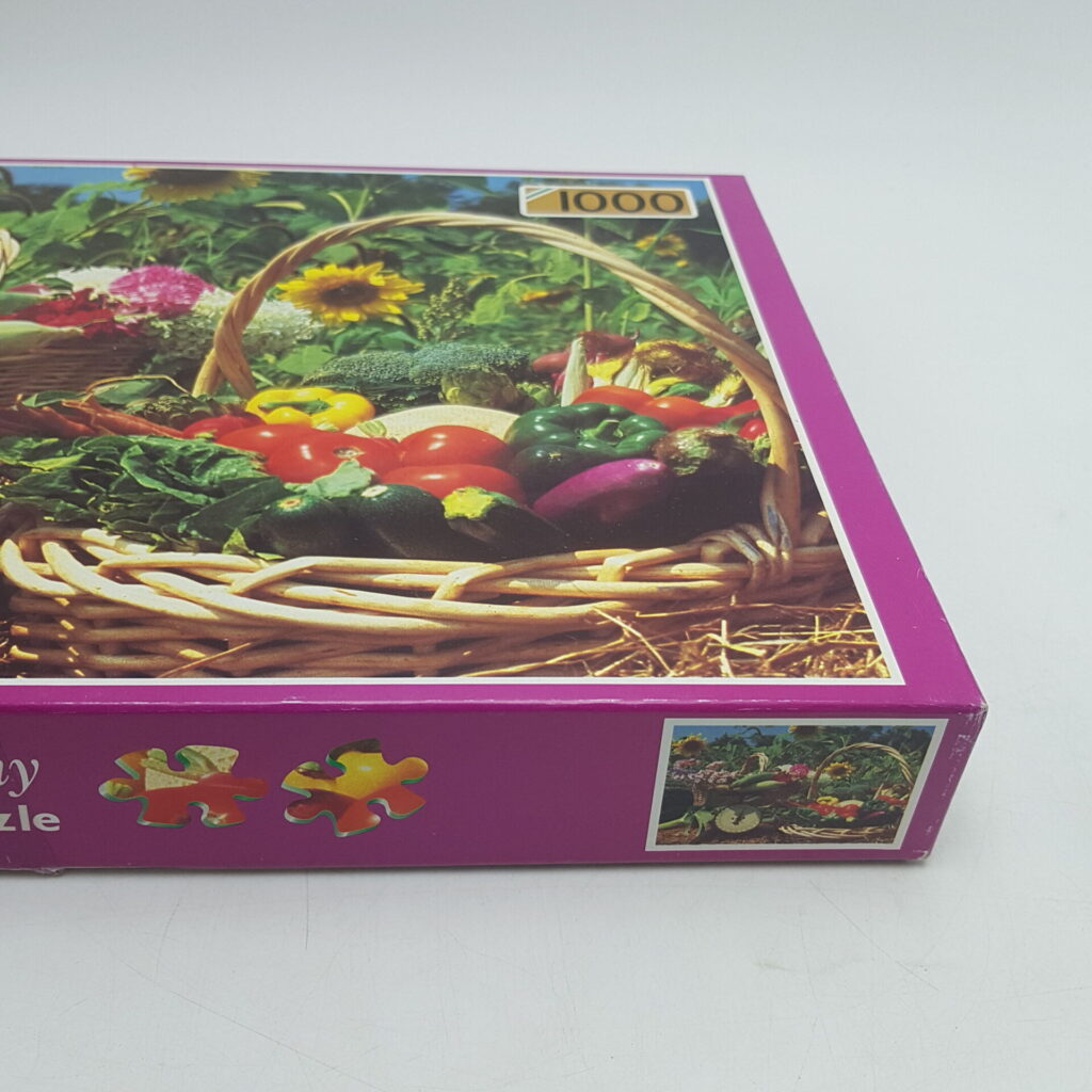 Falcon 1000 Piece Harmony Deluxe Jigsaw Puzzle SUMMER BASKETS (1997) | Image 3