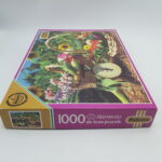Falcon 1000 Piece Harmony Deluxe Jigsaw Puzzle SUMMER BASKETS (1997) | Image 4
