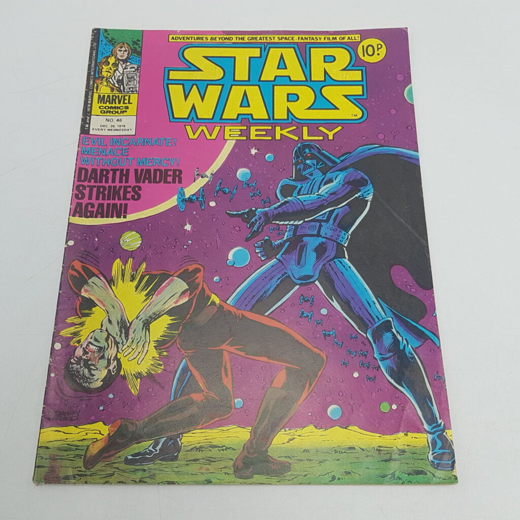UK Vintage Star Wars Weekly Comic Issue #46 Dec 20th 1978 Marvel Comics | Image 1