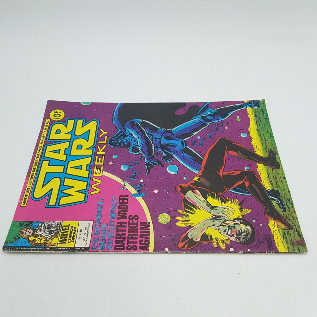 UK Vintage Star Wars Weekly Comic Issue #46 Dec 20th 1978 Marvel Comics | Image 2