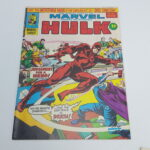 UK Mighty World Of Marvel INCREDIBLE HULK Comic #222 Dec. 1976 [VG+] | Image 1