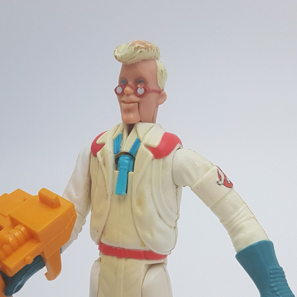 The Real Ghostbusters Fright Features EGON SPENGLER + Tool Action Figure (1989) Kenner | Image 2