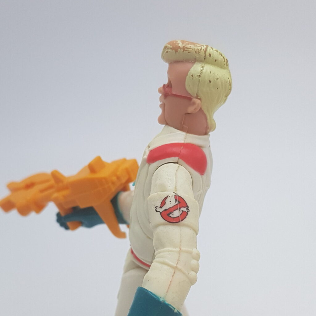 The Real Ghostbusters Fright Features EGON SPENGLER + Tool Action Figure (1989) Kenner | Image 7