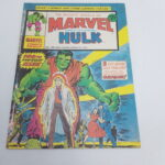 UK Mighty World Of Marvel Starring The INCREDIBLE HULK Comic #100 Aug. 1974 [VG+] | Image 1