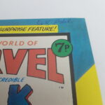UK Mighty World Of Marvel Starring The INCREDIBLE HULK Comic #100 Aug. 1974 [VG+] | Image 4